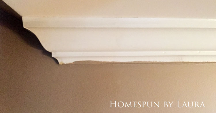 30 Projects in 30 Days | Touching up trim | Homespun by Laura