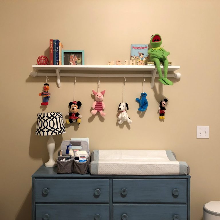 Vintage Toy Neutral nursery - the reveal - Fall 2018 One Room Challenge